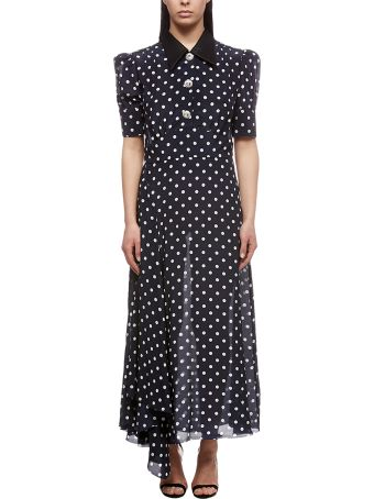Alessandra Rich Polka Dot Dress