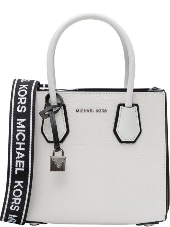 MICHAEL Michael Kors Mercer Medium Pebbled Leather Accordion Tote