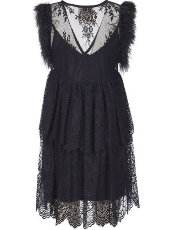 aniye by Sleeveless Fringed Dress