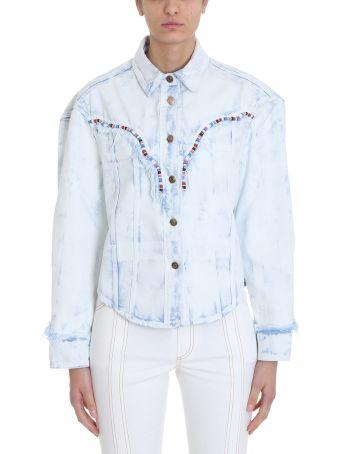 Alanui Light Blue Denim Jackets