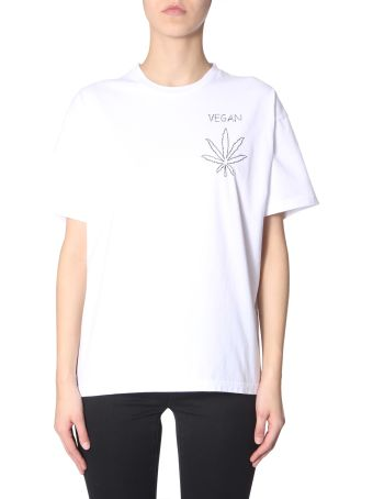 Riccardo Comi T-shirt With  Vegan  Embroidery