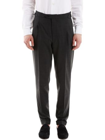 CC Collection Corneliani Classic Wool Trousers