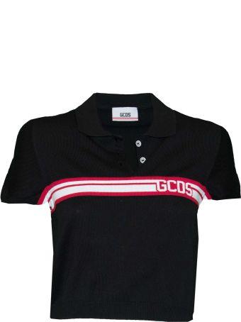 GCDS Cropped Polo Shirt