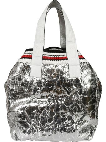 Ermanno Scervino Knitted Tote