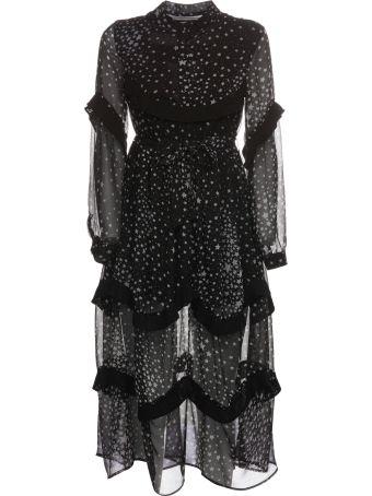 Jovonna Star Print Dress