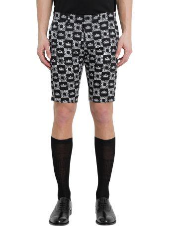 Dolce & Gabbana D&g Crown Bermuda Shorts