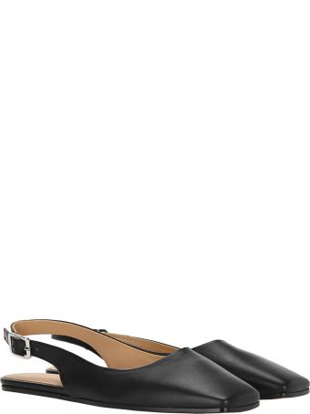 MM6 Maison Margiela Mm6 Sling Back Square Point Ballerina