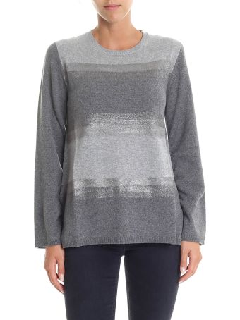 Kangra Grey Cachemire Blend Sweater