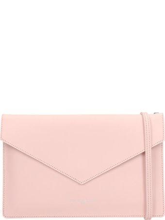 Lancaster Paris Element Pink Saffiano Leather Pochette