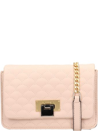 Visone Pink Quilted Lizzy Bag