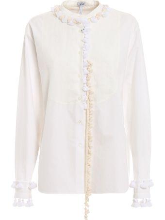 Loewe Tassel Embellished Shirt