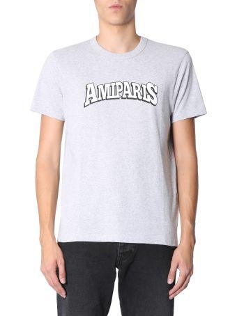 Ami Alexandre Mattiussi Printed Jersey T-shirt