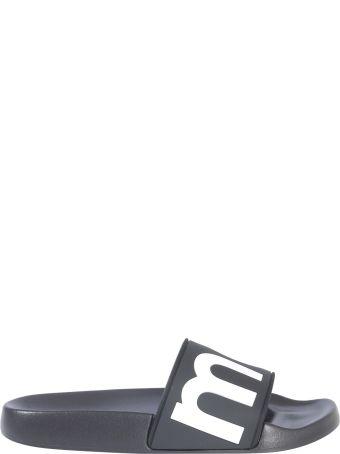 Isabel Marant Étoile Rubber Slide Slippers With Logo