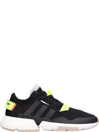 Adidas Black Fabric Pod S3.1 Sneakers