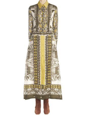 Alberta Ferretti 'habotay' Dress
