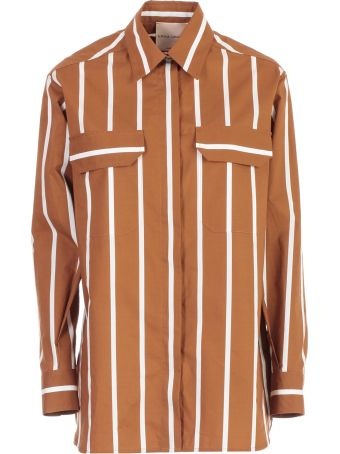SEMICOUTURE Erika Cavallini Striped Shirt