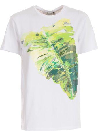 Blugirl Leaves Print T-shirt