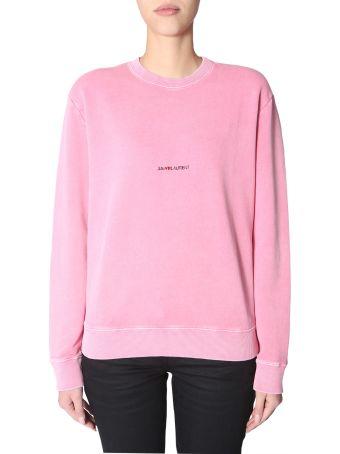 Saint Laurent Crew Neck Sweatshirt