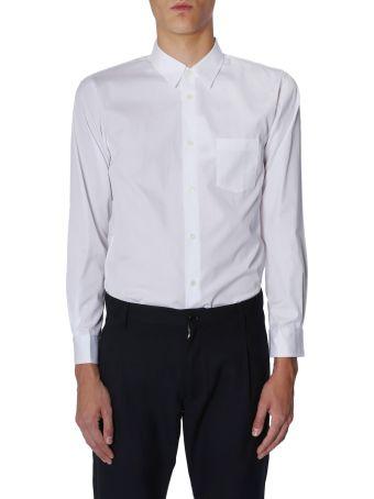 Comme des Garçons Shirt Boy Shirt With Logo Print