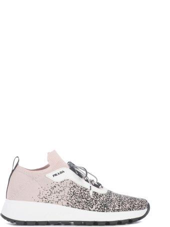 Prada Lace-up Sock Sneakers