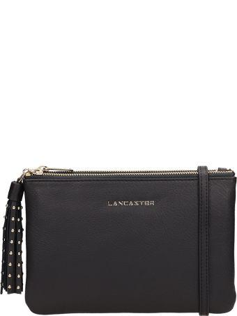 Lancaster Paris Black Leather Ana Handbag