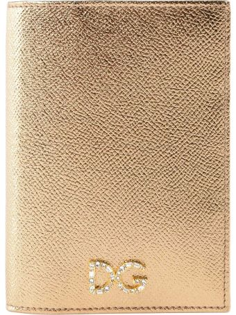 Dolce & Gabbana Daiphine Laminated Passport Case