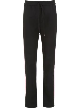 N.21 Joggers With Side Band