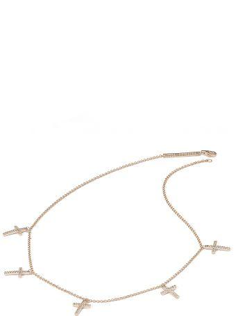 Federica Tosi Lace Faith Mini Necklace