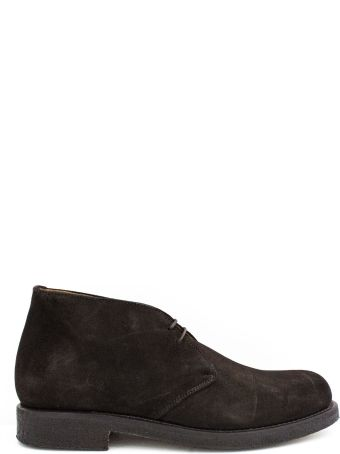 Green George Brown Suede Ankle Boot.