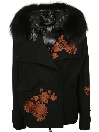 Bazar Deluxe Floral Embroidered Jacket