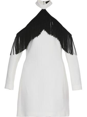David Koma Mini Dress With Fringes