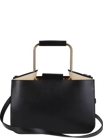Ree Projects Black Leather Bag