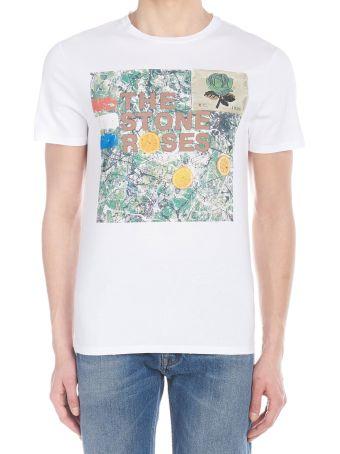 Kent & Curwen 'stone Roses' T-shirt
