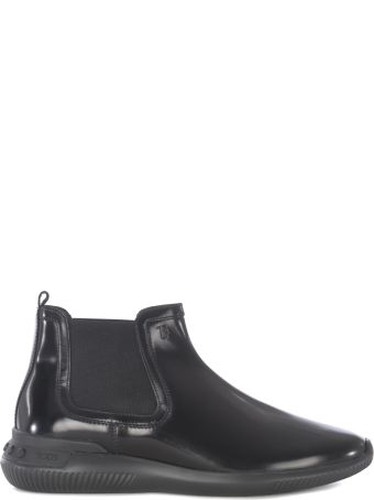 Tod's Smooth Leather Ankle Boots