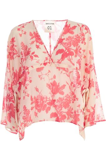 SEMICOUTURE Floral Blouse