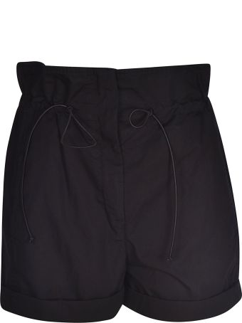 Tela Drawstring Cropped Shorts