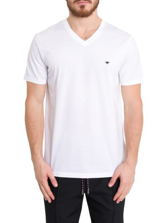 Dior Homme Bee Embroidered Tee