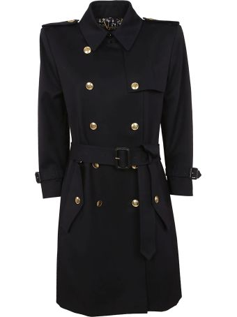 Givenchy Double Breasted Belted Trench Coat