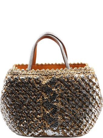 Ermanno Scervino Braided Tote