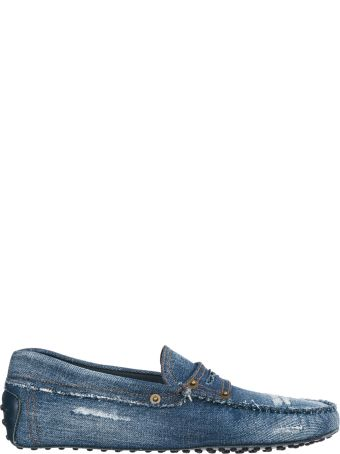 Tod's  Cotton Loafers Moccasins