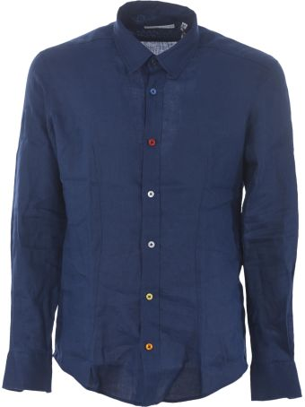 Daniele Alessandrini Decorative-buttons Shirt
