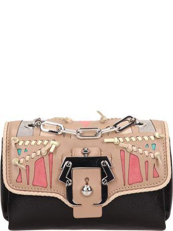 Paula Cademartori Black Leather Kaia Handbag