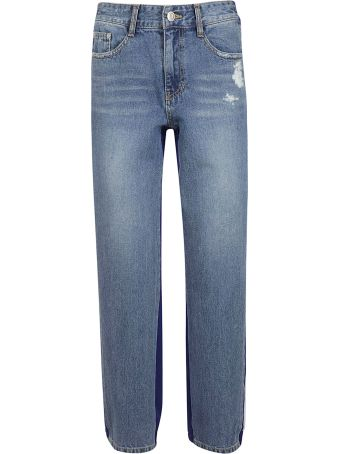 SJYP Two Tone Jeans