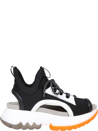 Ruco Line Rucoline Sneakers R-bubble 1475 In Stretch Fabric Color Black