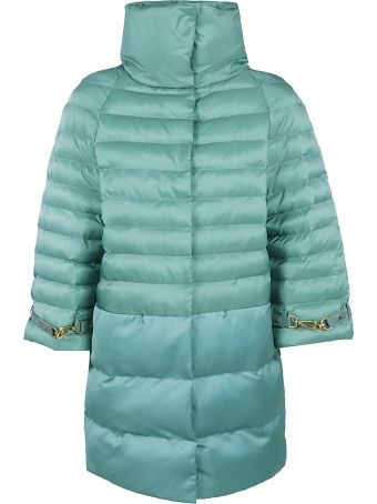 Elisabetta Franchi Celyn B. Zipped Padded Coat