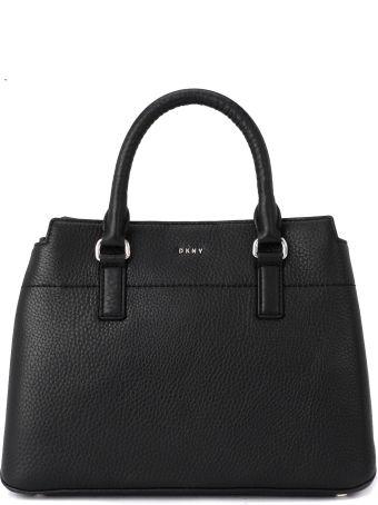 DKNY Bellah Black Leather Handbag