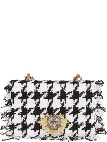 Balmain Tweed Shoulder Bag