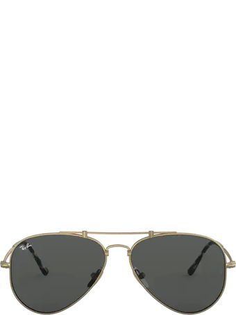 Ray-Ban Ray-ban Rb8125 Demi Gloss Antique Gold Sunglasses