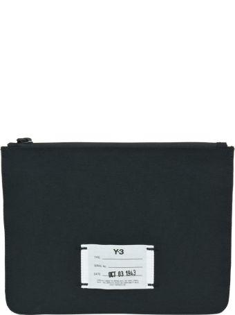 Y-3 Logo Y-3 Pouch