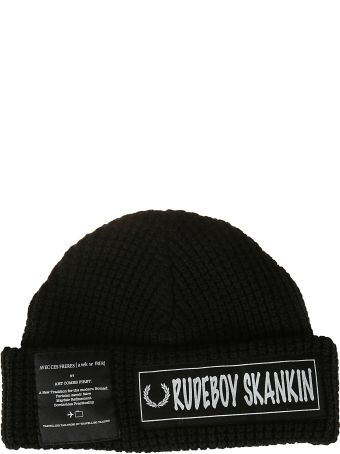 Fred Perry Patch Detail Beanie